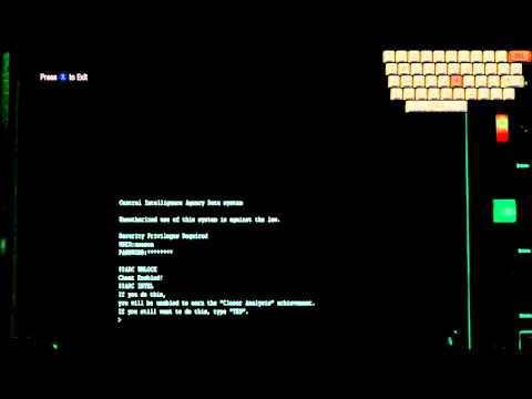 Black Ops Hidden/Secret Computer Codes, Unlocks and Achievements Walk Through!