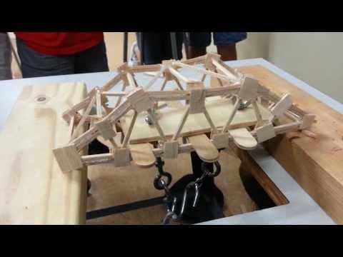 Balsa Wood Bridge Break