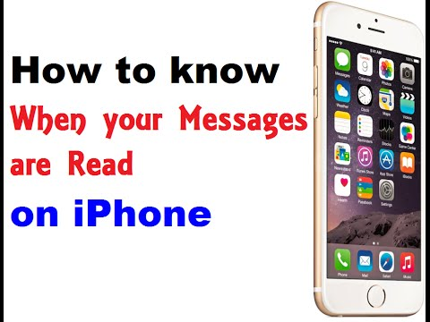 How to know When your Messages are Read on iPhone - iPhone Tips and Tricks