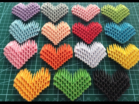 HowTo: 3D Origami Heart