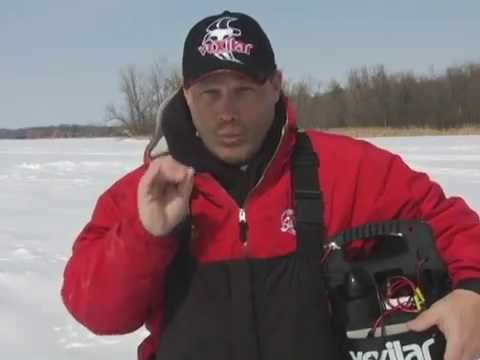 Ice Fishing Today - Schooling Crappies on Ice
