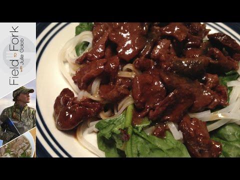 Easy Venison Korean BBQ Slow Cooker Recipe | JulieG TV #FieldtoFork
