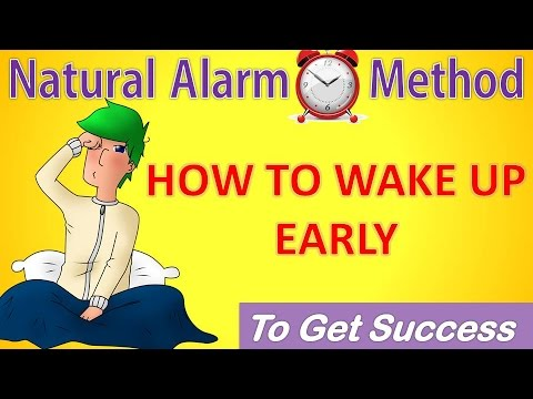 How To Wake up Early In The Morning | wake up at 4 AM  | get up early | To Do Study