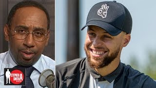 Stephen A. commends Steph Curry for his financial support of Howard golf | Stephen A. Smith Show