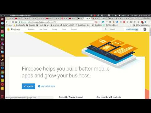 How to store, view and use images/media on firebase