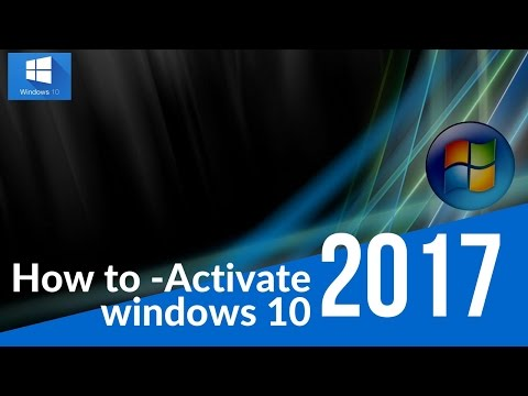 How To Tutorial - How to activate windows 10 - *NEW COA*