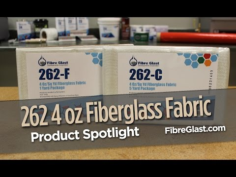 262 4 oz Fiberglass Fabric