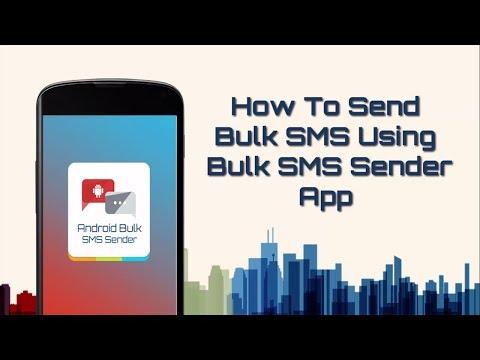How to Send Bulk SMS Using Bulk SMS Sender App