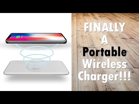 My New Favorite Accessory - Portable Qi Wireless Powerbank (10000mAh)