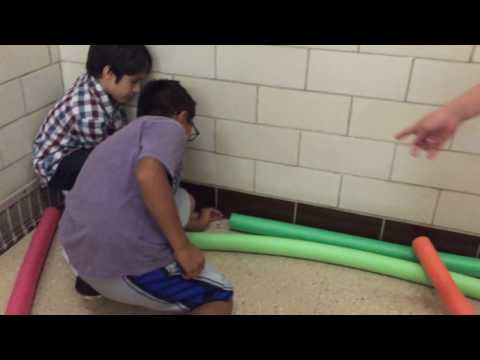 PHES Science - Pool Noodle Rollercoasters