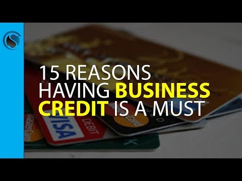 15 Reasons Having Business Credit Is a Must for Every Successful Company…  And How Not Having i