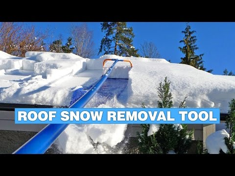 Avalanche Roof Snow Removal Tool