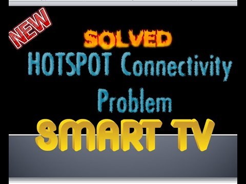 How to Connect Smart TV to Internet using Hotspot