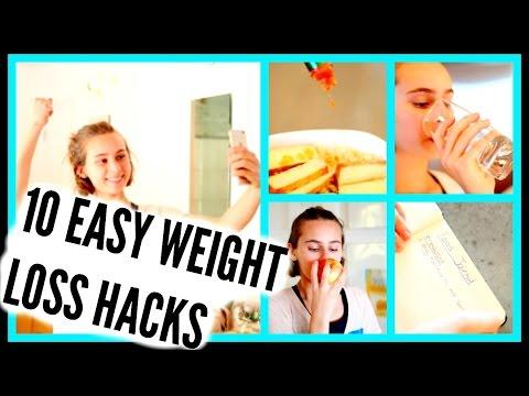 10 EASY WEIGHT LOSS HACKS!