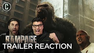 Rampage Trailer #2 Reaction & Review