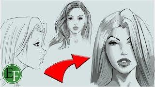 #x202b;كيف ترسم اي شيئ تريده ! حيلة ستجعل منك رسام محترف#x202c;lrm;
