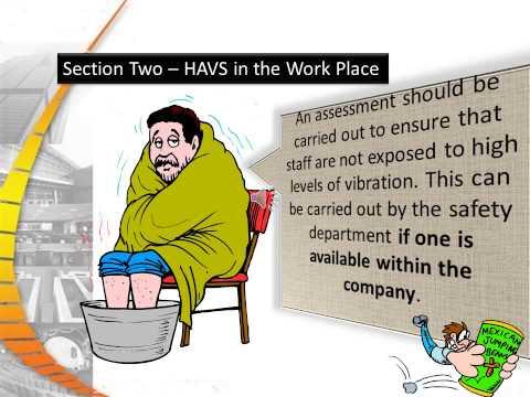 Hand & Arm Vibration Safety Nov 2012