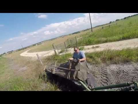 Hay Cutting with John Deere 275 Disc Mower