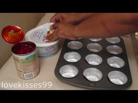 5 Ingredients to Fabulous Cherry Cheesecake Cupcakes