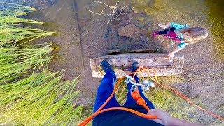 4 YEAR OLD GIRL MAGNET FISHING WITH 1000LB PULL MAGNETS!!!