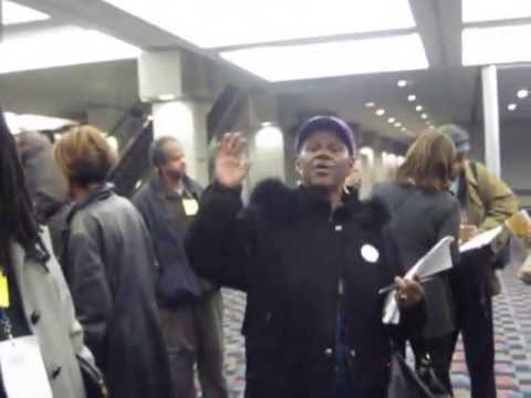 Detroit Election Challengers Kicked Out during Absentee Ballot Count at Cobo Center - Part 1 of 3
