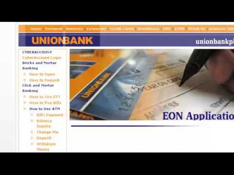 How To Apply EON Card UnionBank
