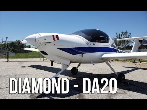 Diamond DA20. Personal Airplane To Learn How To Fly