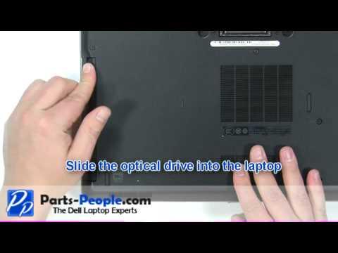 Dell Latitude E6420 DVD Optical Drive Replacement Video Tutorial