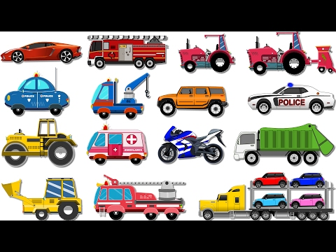 Bike Race | Car Wash Videos for Children | Nursery Rhymes | My Little TV