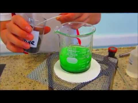 making copper (II) chloride