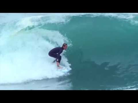 Surfing Massive waves at Wedge the day after shark attack