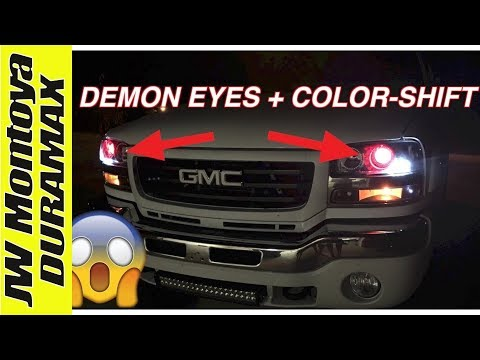 DURAMAX UPDATE! Demon Eyes + Color-shift Halos
