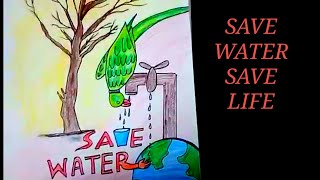 4 29 Save Water Save Tree Drawing Video Playkindle Org