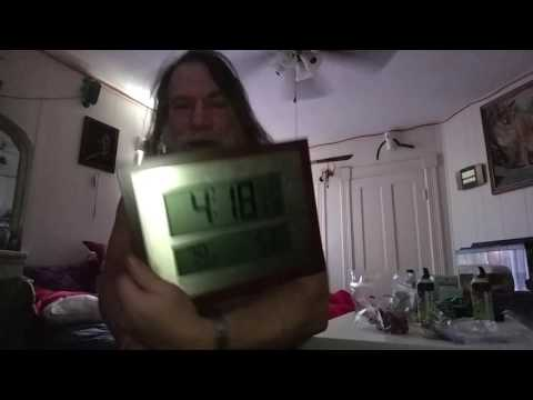 Atomic Clock set up now I am going to be ready for work tomorrow...