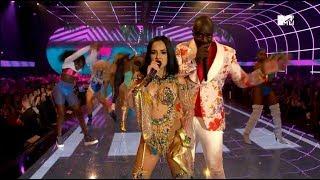 "Akon (阿肯) &  Becky G (貝姬·G) - ""Como No""  【MTV EMA 2019】"