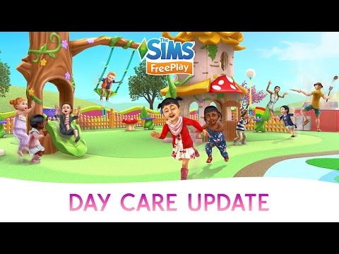 The Sims FreePlay Day Care Official Update Trailer