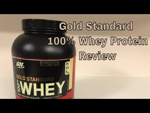 Gold Standard 100 Whey Protein I use, How and Why! 2017