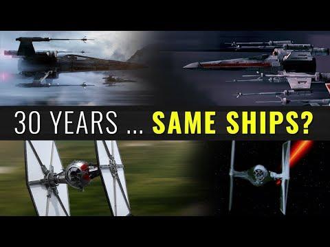 30 Years ... Same Ships? - STAR WARS