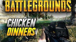 Battlegrounds: MORE CHICKEN DINNERS! (Playerunknown