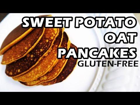 SWEET POTATO OATS PANCAKES | Gluten Free | KID FRIENDLY
