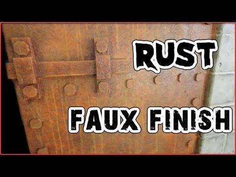 Haunt Ventures 165 - Rust faux finish