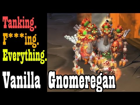 This is what happens when the Alarm-o-Bots trigger in Vanilla Gnomeregan [Classic World of Warcraft]