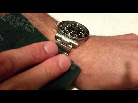 Rolex Submariner Stainless Steel Polish and Scratch Removal 11660LN