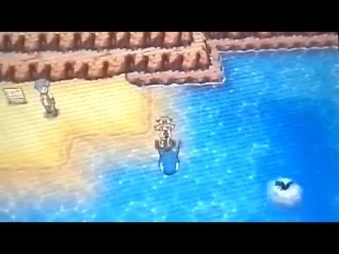Alpha Sapphire Surf and Dive with Kyogre