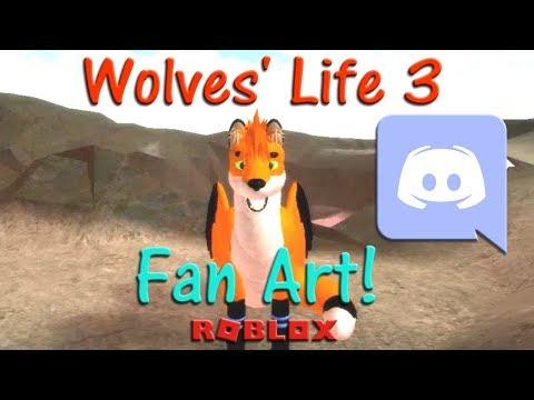 Roblox - Wolves' Life 3 - Fan Art! #3 - HD