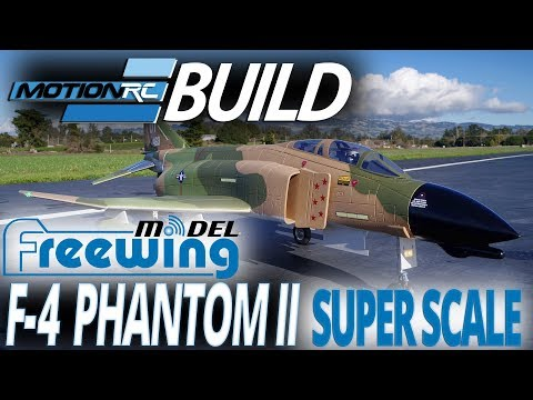 Freewing F-4 Phantom II 90mm EDF Jet - Build Video - Motion RC