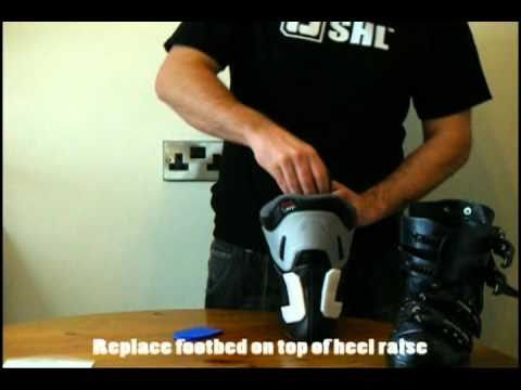 How to fit a Heel Raise