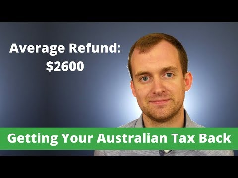 Australian Working Holiday Tax Refunds