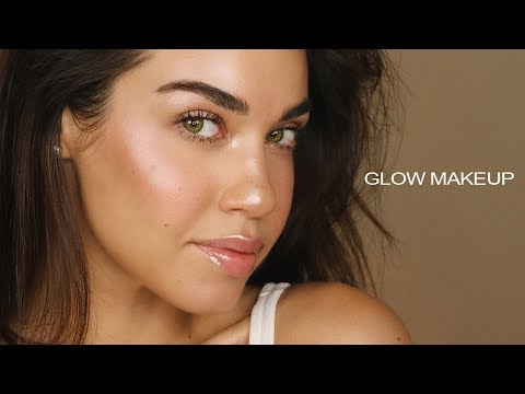 How To: No Foundation Makeup Routine | GLOW MAKEUP | Flawless Glowing Skin with No Foundation