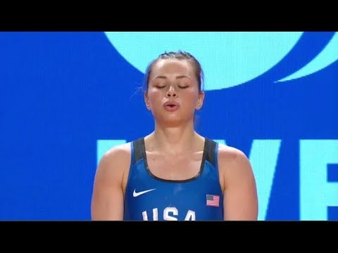 Women's 63 kg A Session Clean and Jerk - 2017 IWF Weightlifting World Championships (WWC)